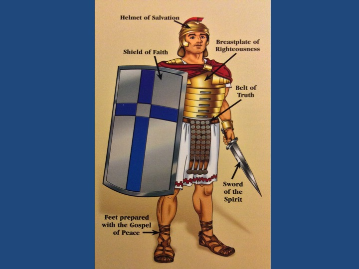 The Whole Armor of God - Bible Study Visuals